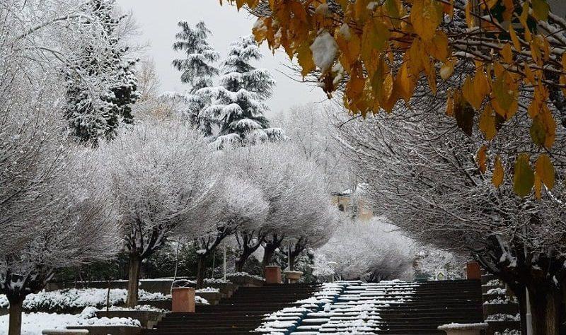 تهران در زمستان