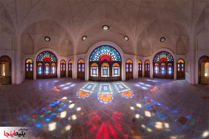 خانه طباطبایی در کاشان شهر گلاب و فرهنگ
