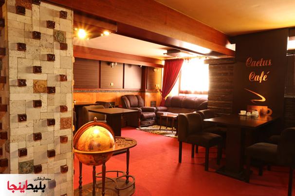 کافی شاپ هتل سی برگ مشهد با فضایی لاکچری ورویایی در خیابان احمدآباد