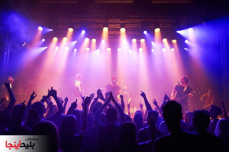 کنسرت های 1399 در کیش