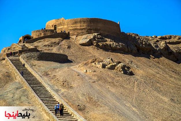 برج خاموشان در یزد