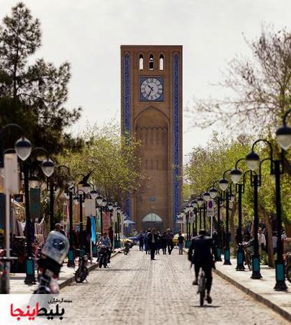 میدان وقت الساعت یزد