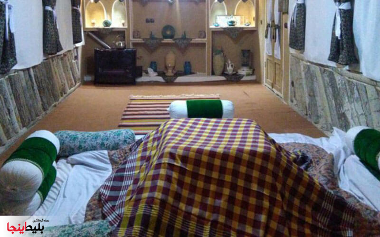 اقامتگاه بومگردی صالح در کاشان