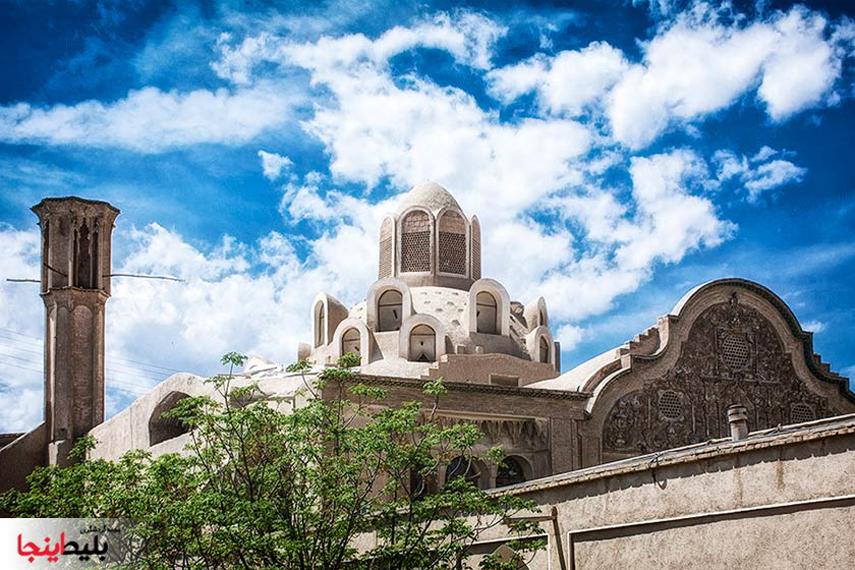 خانه بروجردی ها کاشان شهر تمدن و فرهنگ ایرانی
