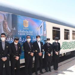 پرسنل زحمتکش قطارهای مسافربری در کرونا