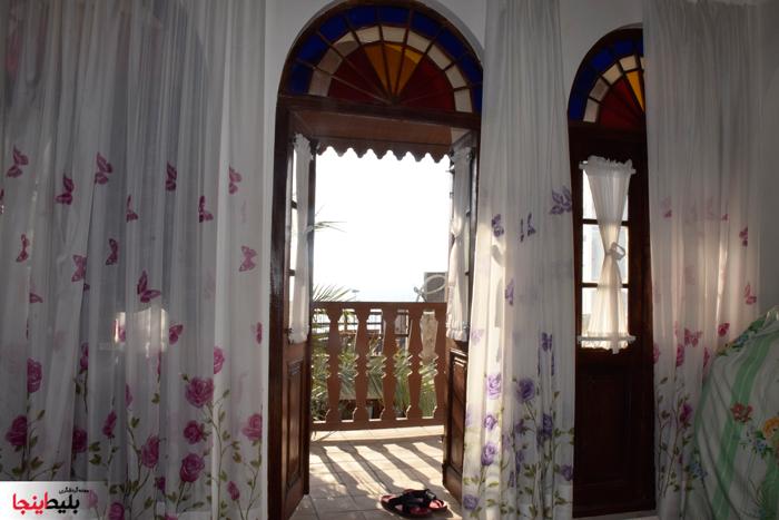فضای داخلی اقامتگاه بومگردی مان همیشه سبزدر بوشهر