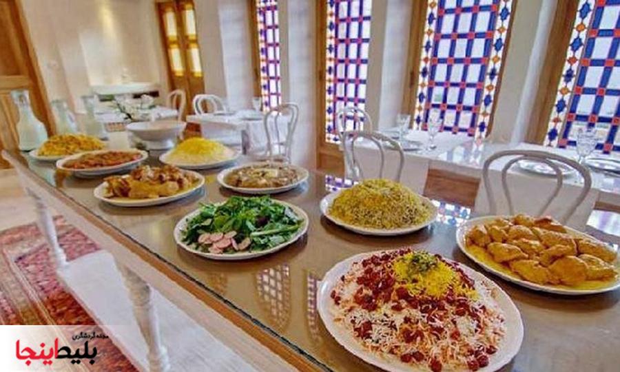 رستوران خانه منوچهری در کاشان
