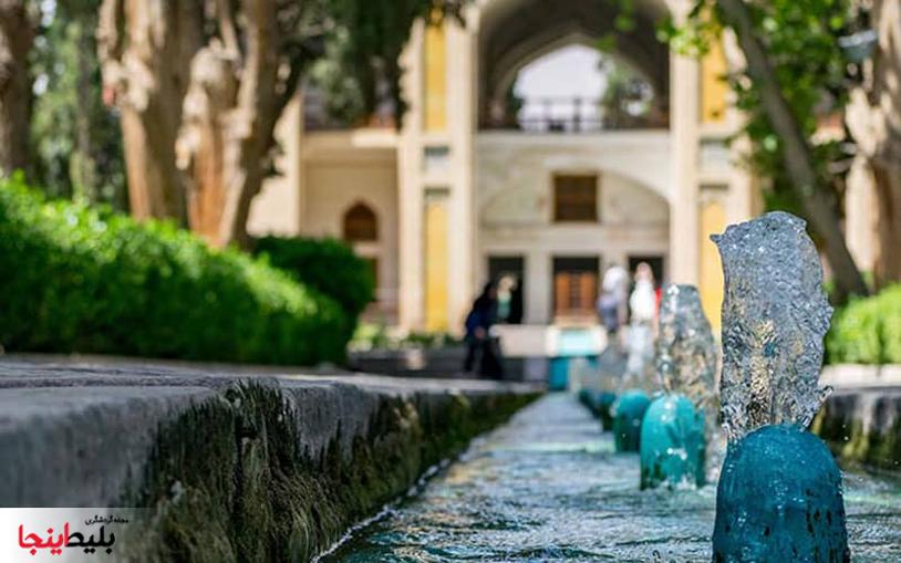 باغ فین کاشان یکی از زباترین معماری های تاریخ