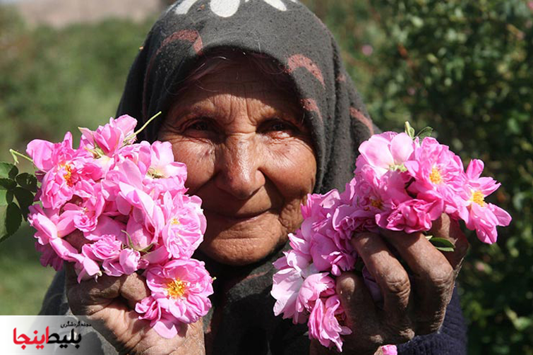 کاشاک-قمصرکاشان محل گلاب و گلابگیری