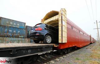 حمل خودرو با قطار در ایران به راحتی امکان پذیر است.