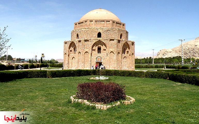 گنبند جبلیه یا موزه سنگ در استان کرمان