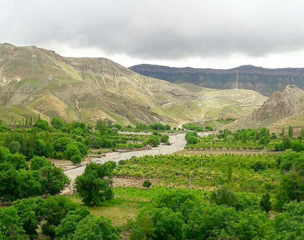 روستای زیبای آبقد در خراسان رضوی
