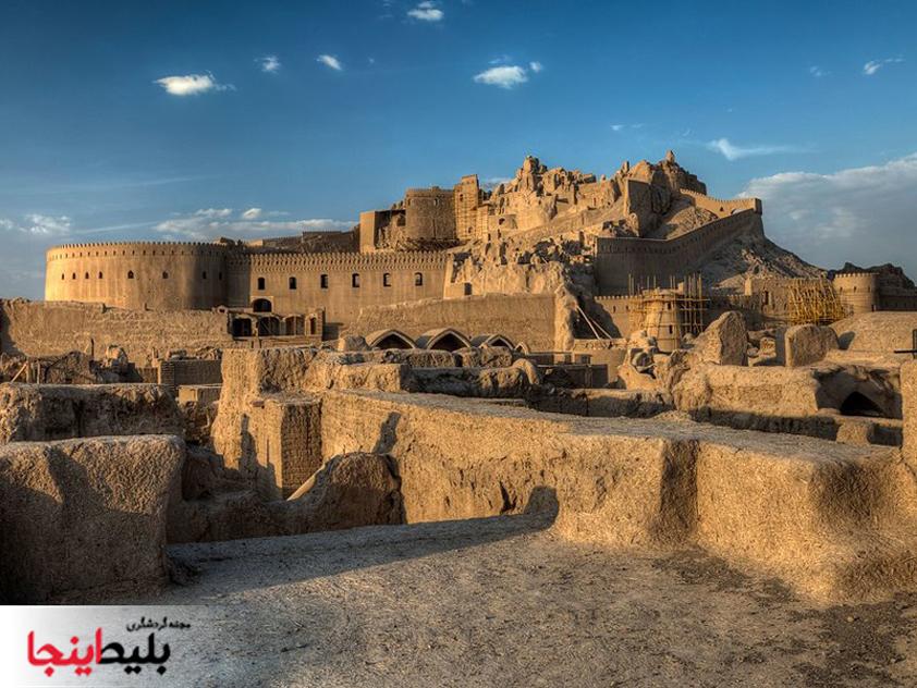 ارگ بم در استان کهن کرمان