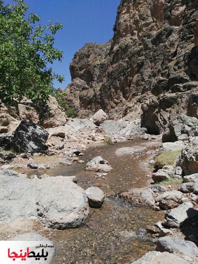 دره ی زیبای روستای آبقد