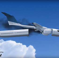 سانحه ی هواپیمایی در پاریس